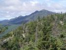 view of West Peak and Avery Peak of Bigelow Mtn., mile 1995