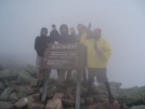 Walking Cowboy, Early Bird, Pressure D and Flaxseed on Katahdin, by EarlyBird2007 in Thru - Hikers