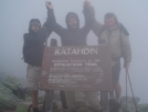 Walking Cowboy, Early Bird and Pressure D on Katahdin by EarlyBird2007 in Thru - Hikers