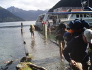 Dock Under Water At Start Of Milford Track