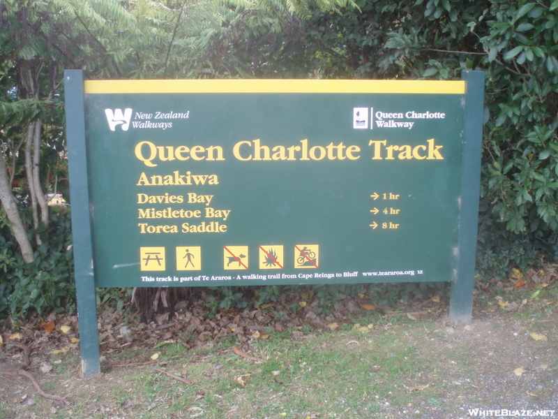 Qct Sign At Anakiwa #1