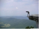 Poky on McAffee Knob by Rainbow in Candid (contest)