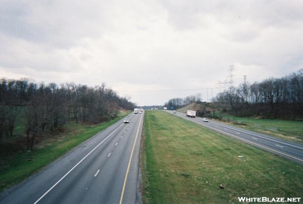 Crossing I-81 North of Boiling Springs