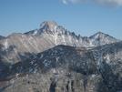 Longs Peak From Hallett Peak by scope in Other Trails