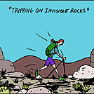 Invisible rock by attroll in Boots McFarland cartoons