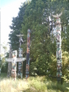Vancouver - Stanley Park, Tlingit Totem Display by camojack in Special Points of Interest