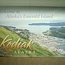 Alaska 2011 - Kodiak airport welcome sign