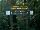 José Tosi Trail Sign by camojack in Special Points of Interest