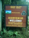Monteverde Welcome Sign by camojack in Special Points of Interest