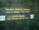 Wilford Guindon Trail Sign by camojack in Special Points of Interest