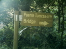 Puente Tuercas Bridge Sign by camojack in Special Points of Interest