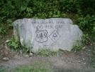 Hogpen Gap Marker by camojack in Trail & Blazes in Georgia