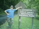 Jack By Entering G.s.m.n.p. Sign by camojack in Trail & Blazes in North Carolina & Tennessee