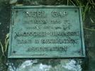 Neel Gap Plaque by camojack in Trail & Blazes in Georgia