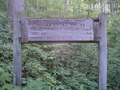 Stecoah Gap Nobo Sign