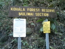 Hawaii 2009 -waipio Valley Hike Sign 2 by camojack in Special Points of Interest