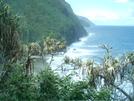 Kalalau Trail Overlooking Hanakapi'ai Beach by camojack in Special Points of Interest