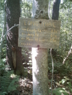 Another Sign At Seth Warner Shelter Trail by camojack in Trail & Blazes in Vermont