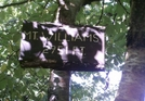 Mt. Williams Summit Sign by camojack in Trail and Blazes in Massachusetts
