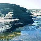 Niihau 2011 eroded volcanic strata by camojack in Special Points of Interest