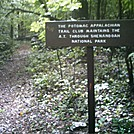 PATC sign by Shenandoah NP boundary by camojack in Trail & Blazes in Virginia & West Virginia