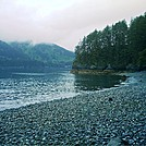 Spruce Island Alaska - hike to Ouzinkie, pebbly beach by camojack in Special Points of Interest