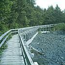 Spruce Island Alaska - Ouzinkie boardwalk 2