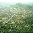 Spruce Island, Alaska - Russian Orthodox former cross at Mt. Herman summit by camojack in Special Points of Interest