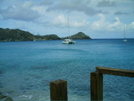 St. Bart's Hike - Boat Moored Off Colombier Beach by camojack in Special Points of Interest