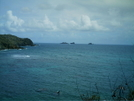 St. Bart's Hike - Sailboat In Distance by camojack in Special Points of Interest
