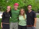 Shuffles, Stomp, Peanut, Wrongway by Peanut in Thru - Hikers