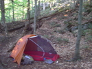 My Hubba by Peanut in Tent camping