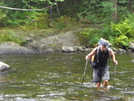 Site Fording A River In Maine by Peanut in Thru - Hikers