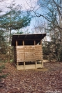 Lost Mountain Shelter - privy by gonzo in Virginia & West Virginia Shelters
