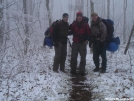 March 2006 on the AT by spring in Section Hikers