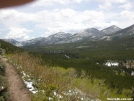 CDT Approach Trail in RMNP by frequency in Other Trails