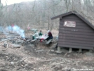 Priest Trail Shelter by frequency in Trail & Blazes in Virginia & West Virginia