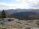 Spy Rock - Central VA by frequency in Trail & Blazes in Virginia & West Virginia
