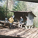 AT by Mountain Mike in Stover Creek Shelter
