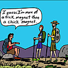 Tick magnet by attroll in Boots McFarland cartoons
