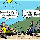 Feet complaining
