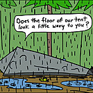 Tent floor by attroll in Boots McFarland cartoons