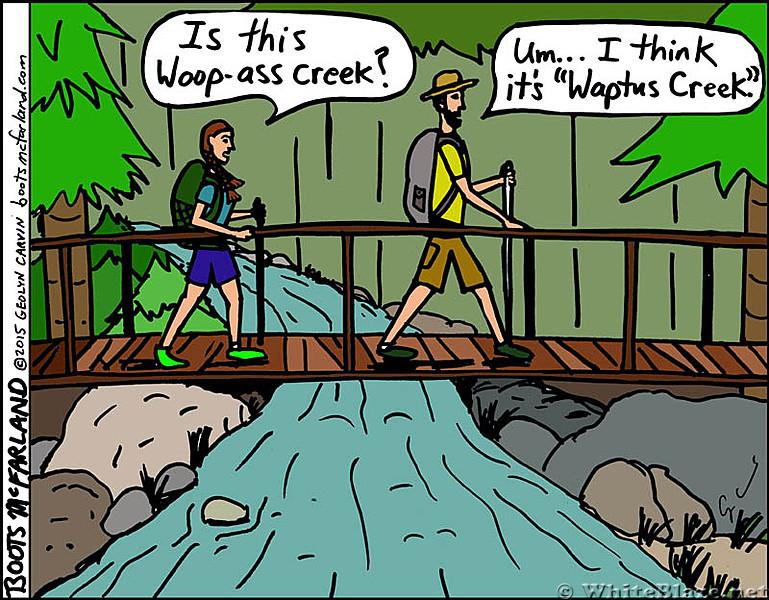 Waptus creek