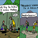 Progress screeches by attroll in Boots McFarland cartoons