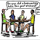Bushwacking by attroll in Boots McFarland cartoons