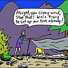Crazy Wind by attroll in Boots McFarland cartoons