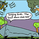 Alarm Clock by attroll in Boots McFarland cartoons