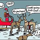 Santa going altralight