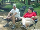 Mrs. Frolicking Dino and Hammock Engineer by Michele in Hammock camping