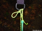 Half-Hitch Slip Knot by Michele in Hammock camping